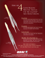 Lalonde® Skin Hook Forceps
