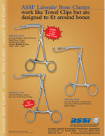 ASSI® Lalonde® Bone Clamps