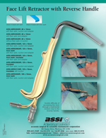 Face Lift Retractor with Reverse Handle