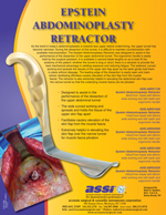 Epstein Abdominoplasty Retractor
