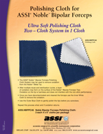 Polishing Cloth for ASSI® Noble™ Bipolar Forceps